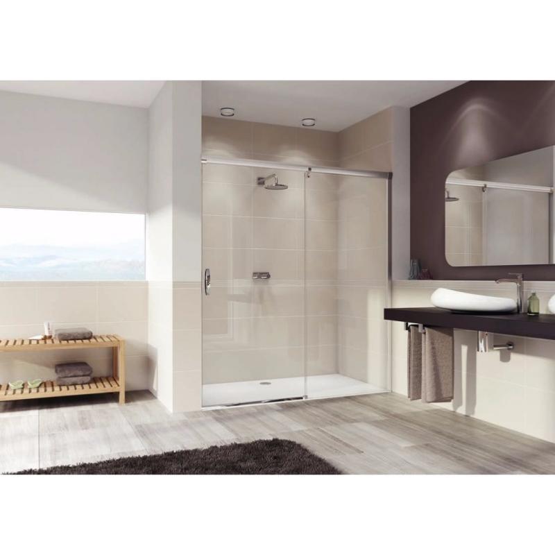 paroi de douche coulissante mod aura el gance de h ppe. Black Bedroom Furniture Sets. Home Design Ideas