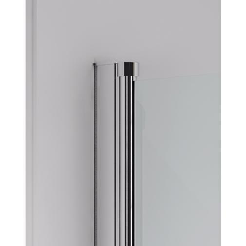 pare baignoire 1 volet pivotant 80x150 marque merlyn ionic. Black Bedroom Furniture Sets. Home Design Ideas