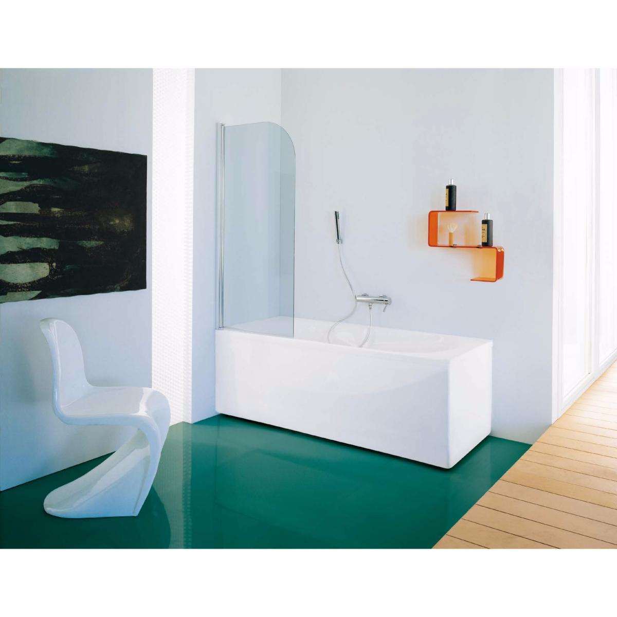 Pare baignoire 1 volet 72 74 x 140 cm de la marque for Fabriquer un pare baignoire