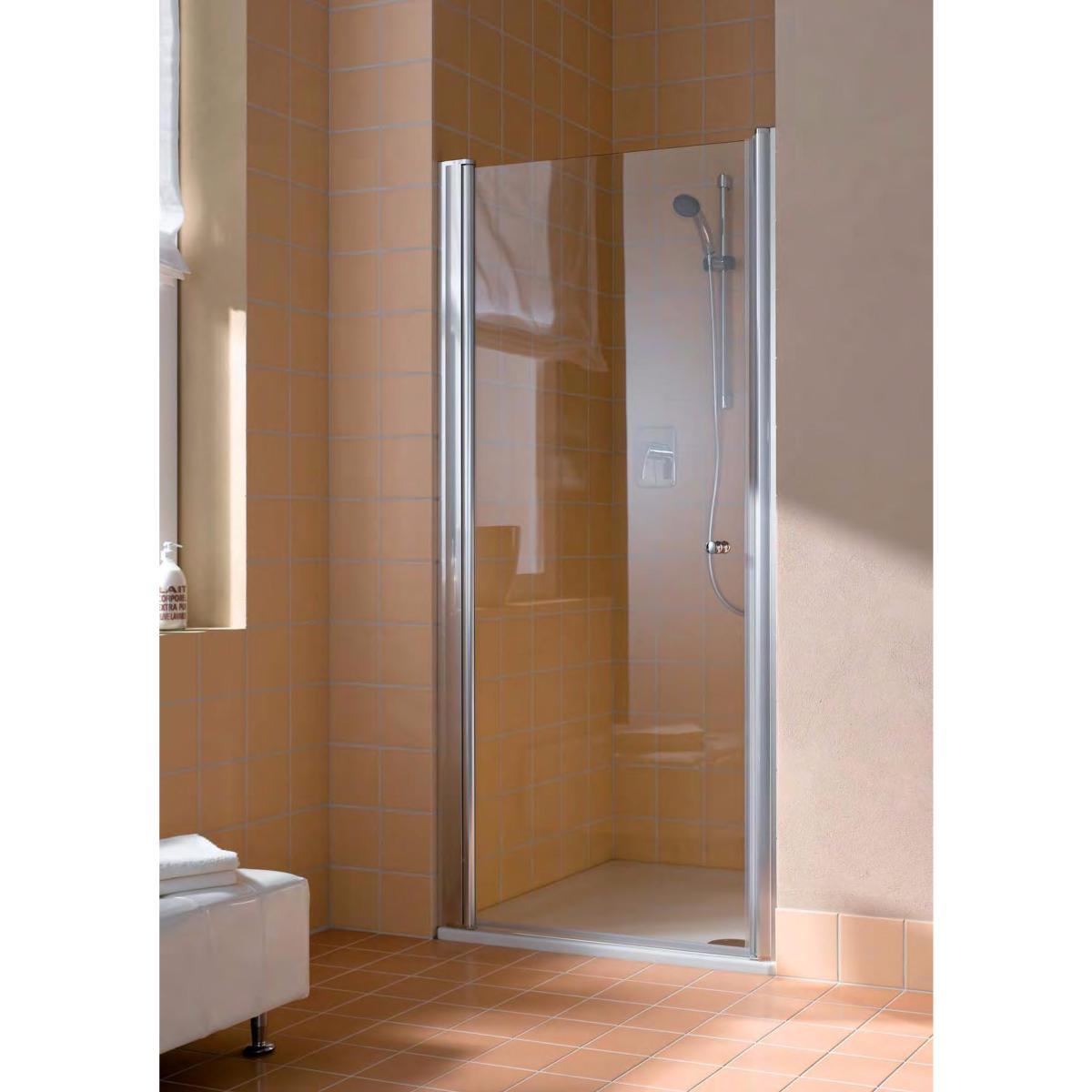 paroi de douche 1 porte pivotante mod le at a at 1w de. Black Bedroom Furniture Sets. Home Design Ideas