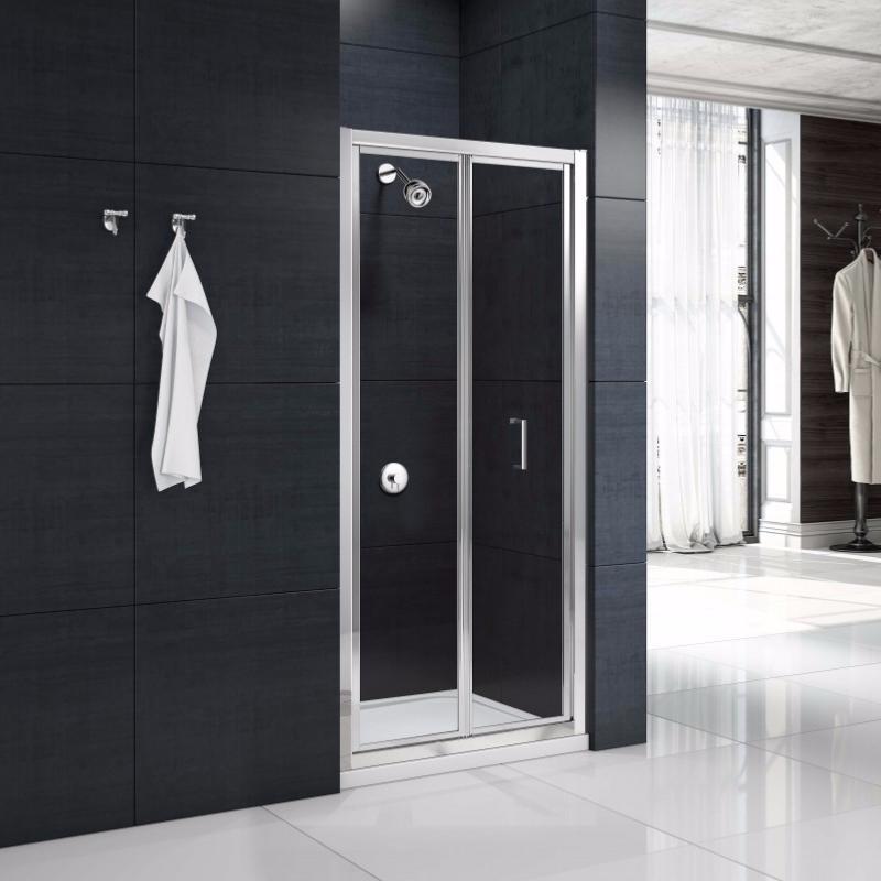Paroi de douche 2 portes pliantes mod le mbox de merlyn - Portes de douches pliantes ...